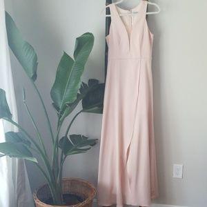 🏝Minuet Dress blush color Size M (6-8)